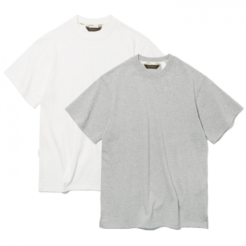 19ss 2pack s/s tee off white / grey