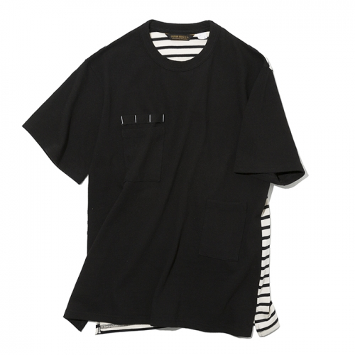 19ss utility pocket s/s tee black
